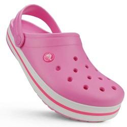 Crocs Crocband Pink /White...