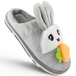 Kapcie dziecięce Szare Bunny