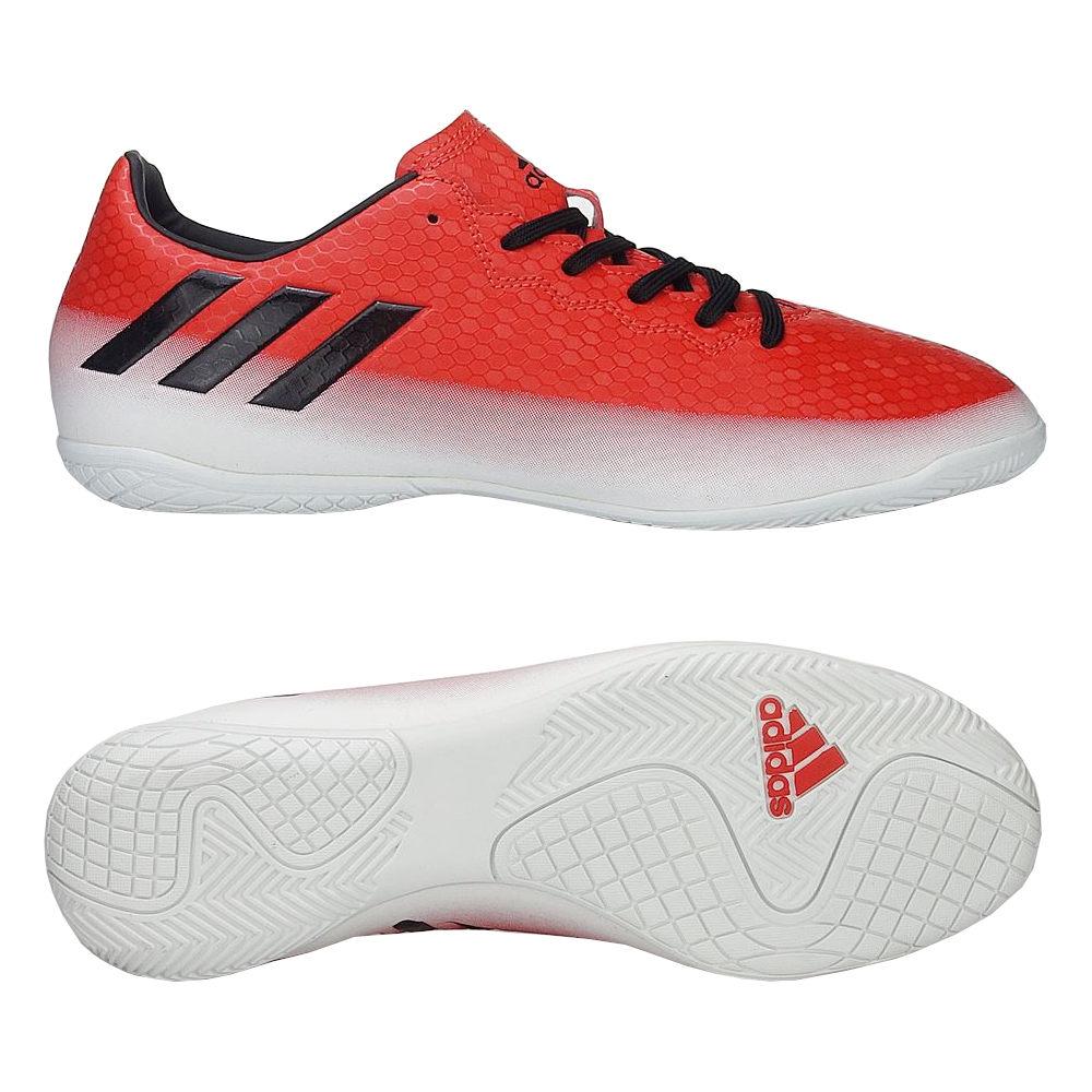 Adidas Hallenschuhe Herren Indoor Fußballschuhe Messi 16.4 In BA9026 Rot